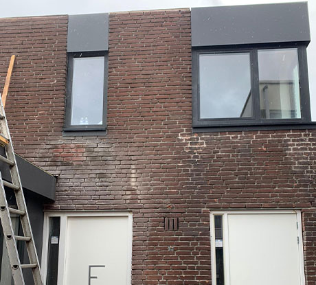 Gevelreiniging - Gebouw Almere